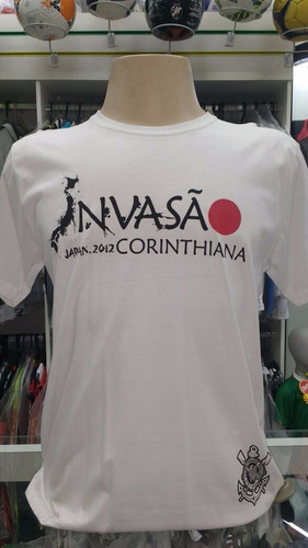 camisa corinthians invasão 2012 japão
