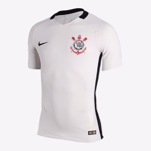 248f56dcab Camisa Corinthians Jogador 2016 Branca Oficial Nike - Netfut - R  199