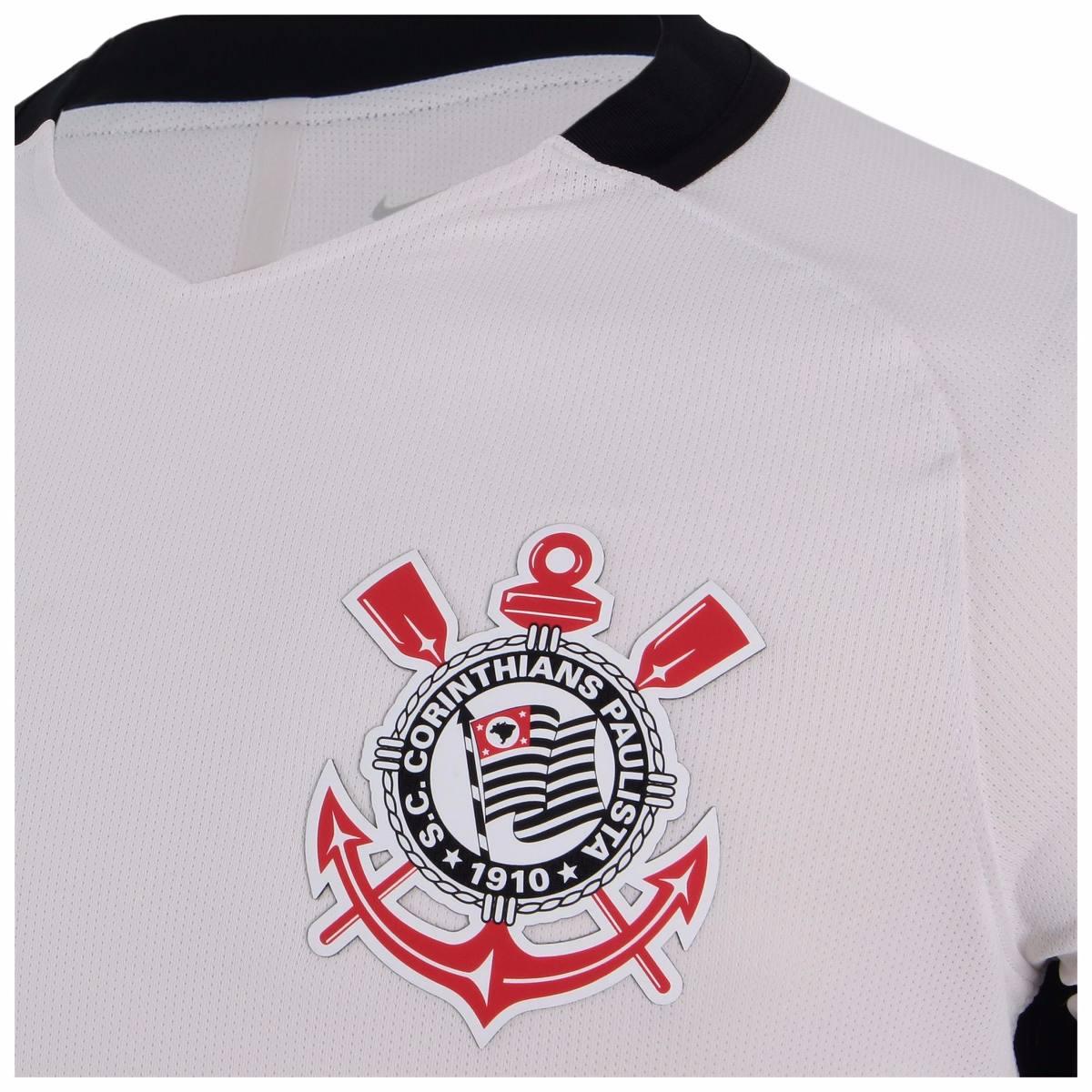 25e3d6c479dd7a  camisa corinthians jogador 2016 branca oficial nike -  netfut. Carregando zoom. ae4c1bbe5682e