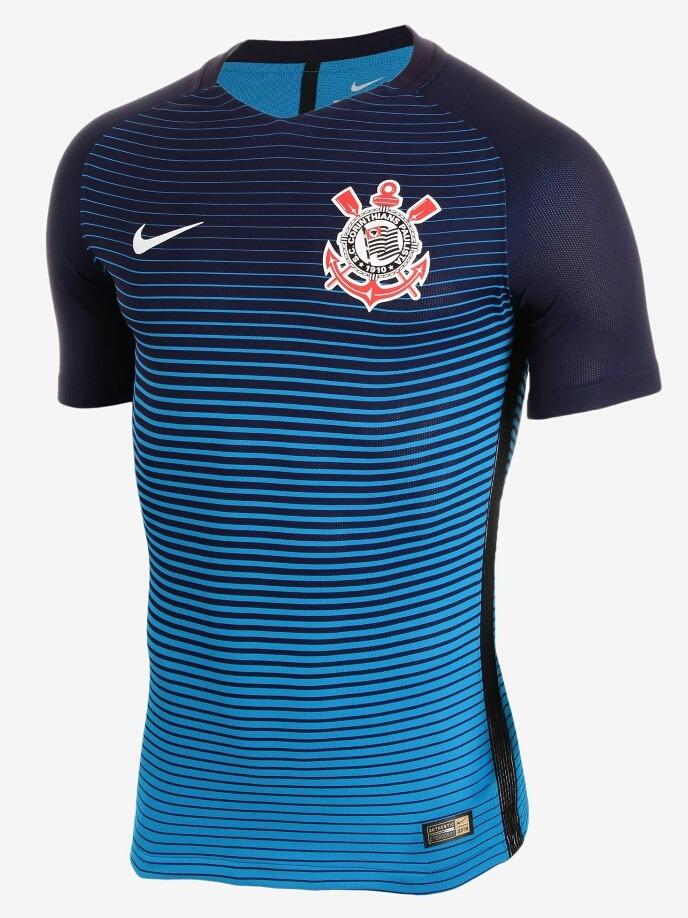 camisa corinthians jogador azul 2016 original - footlet. Carregando zoom. 1478fa4249298