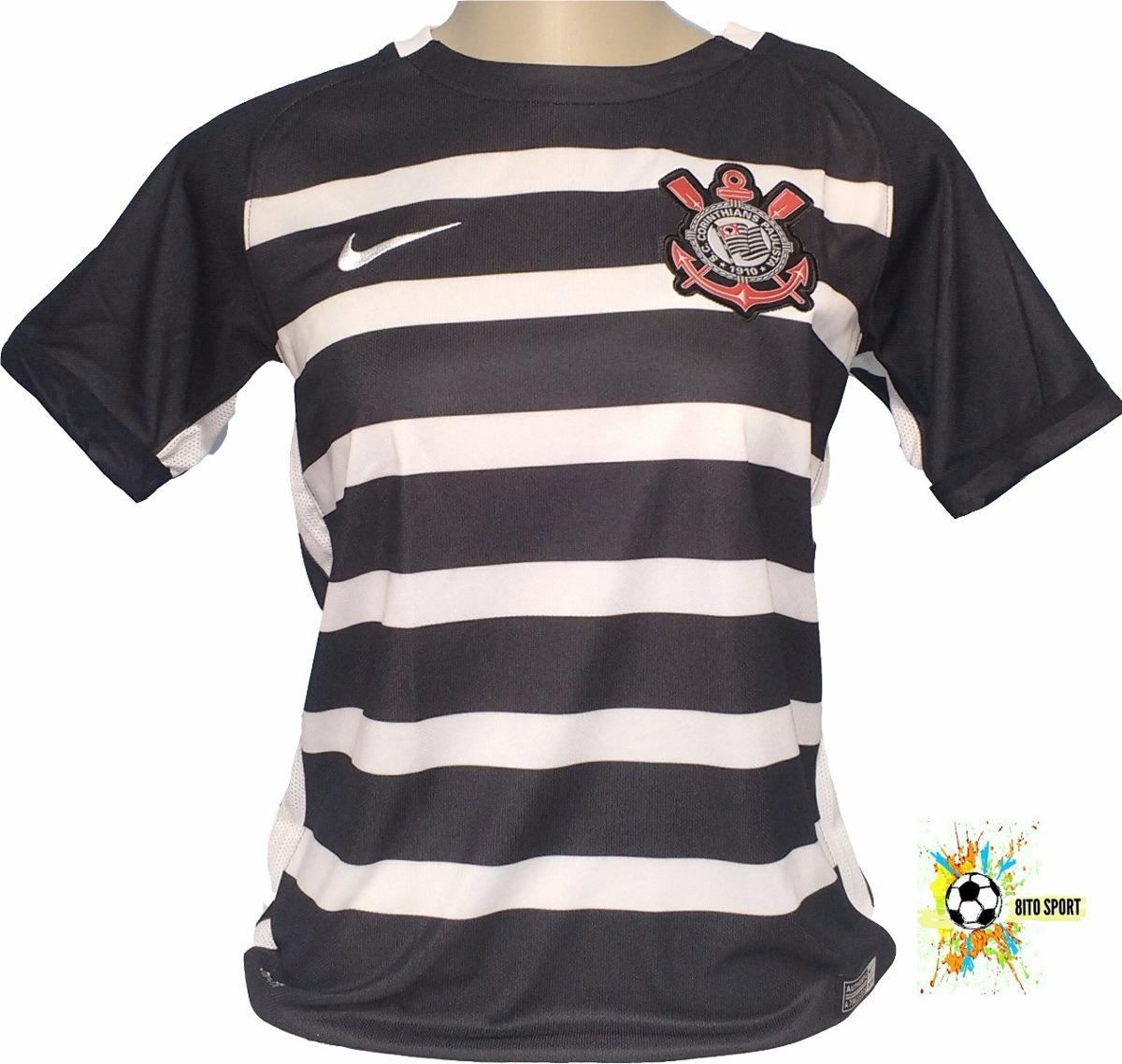 camisa corinthians juvenil original nike campeão 2015. Carregando zoom. 67dfee8116c6d