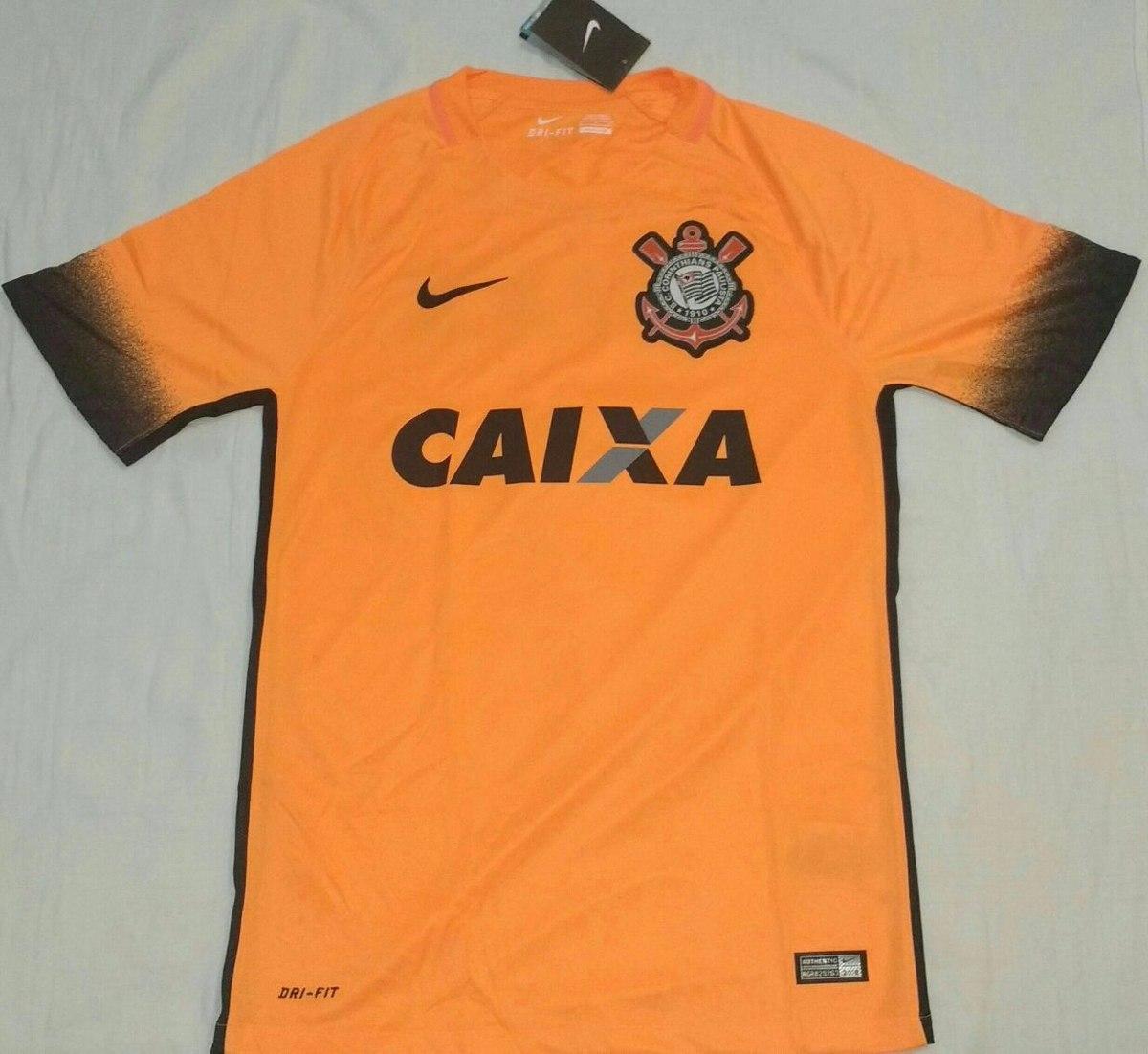 camisa corinthians laranja de 2015 terrão 100% original nike. Carregando  zoom. f007469fe5d87