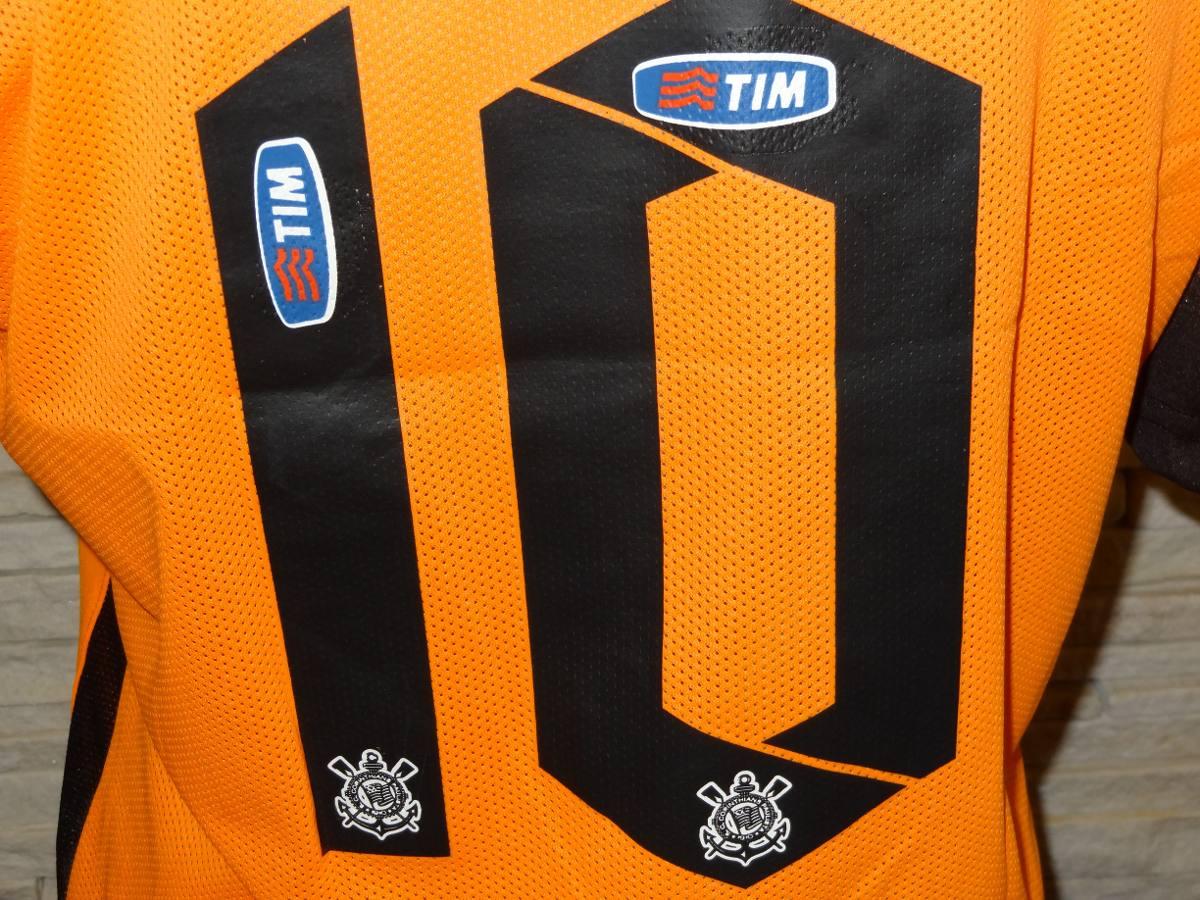 camisa corinthians laranja terrão 2015. Carregando zoom. 95b7fae6013b0