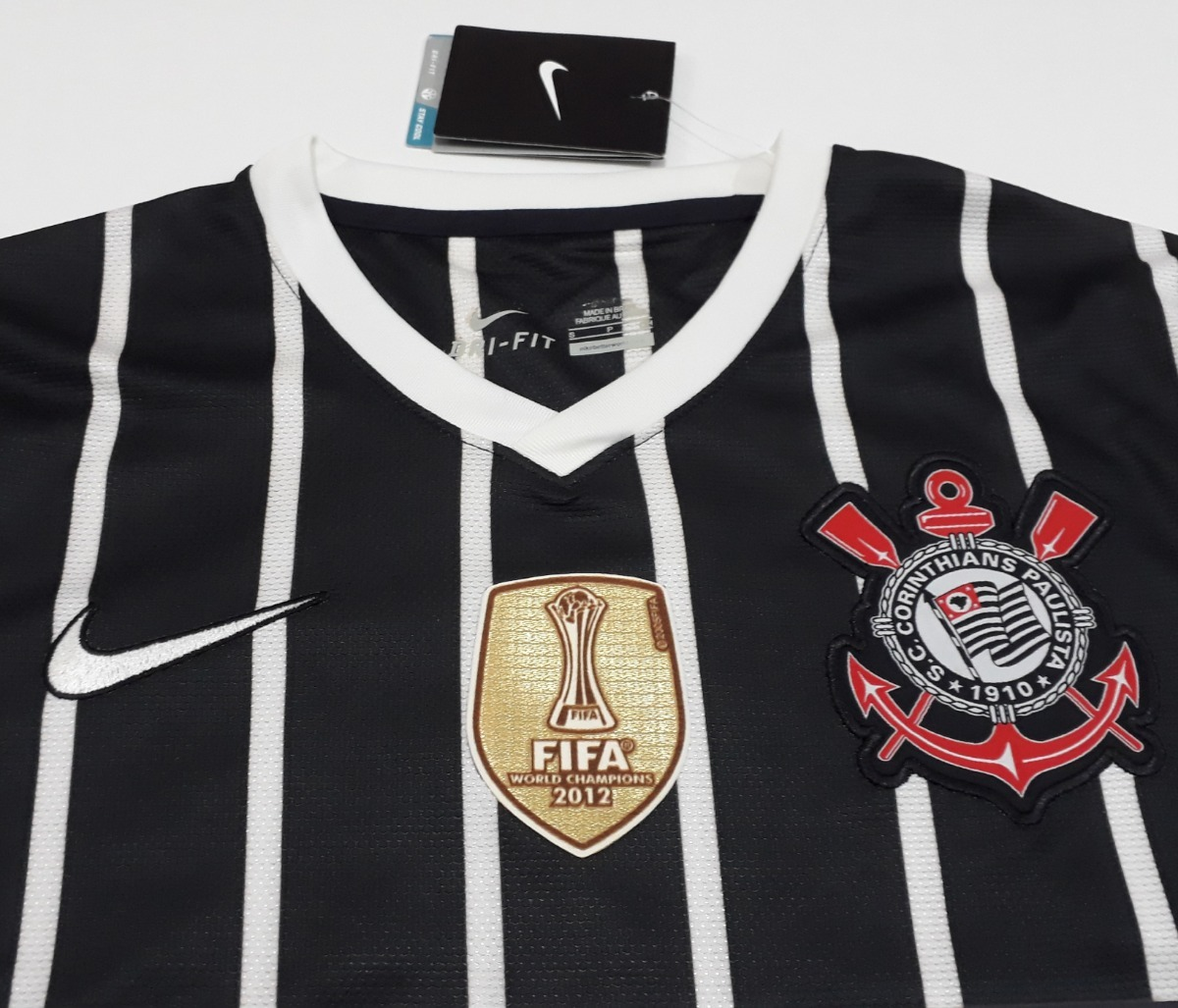 camisa corinthians libertadores e mundial paulinho nike - 08. Carregando  zoom. 5cdfb6a53cf1a