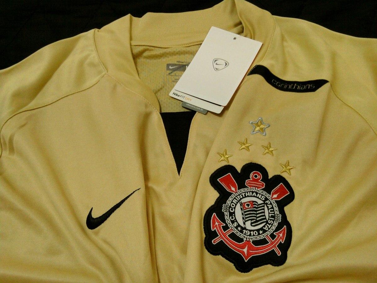 88cf67ff26bc7 camisa corinthians manga longa oficial nike treino 2008 nova. Carregando  zoom.