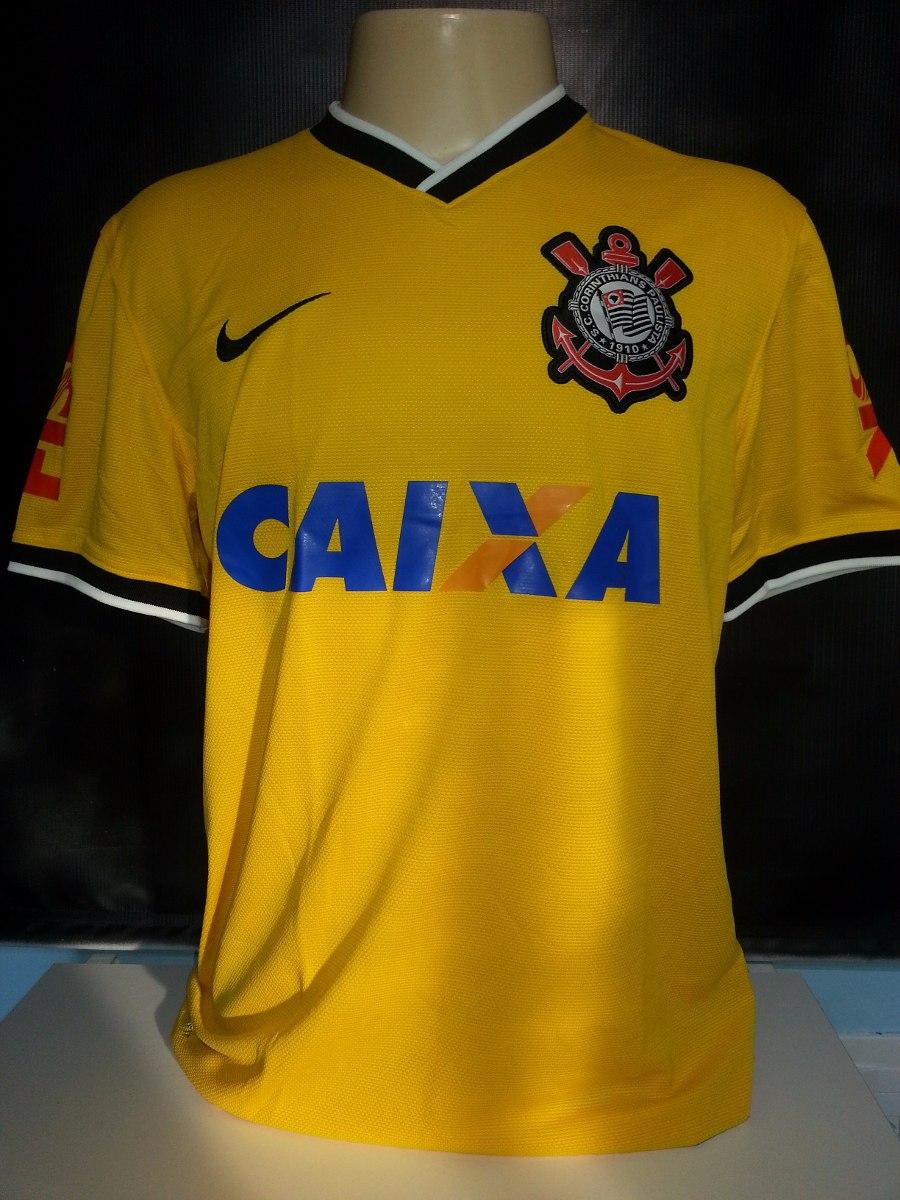 a79483f530 camisa corinthians nike amarela 2014 craque guerrero. Carregando zoom.
