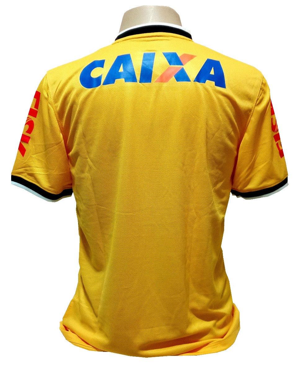 camisa corinthians nike brasil copa 2014 amarela. Carregando zoom. ff392afb5a392