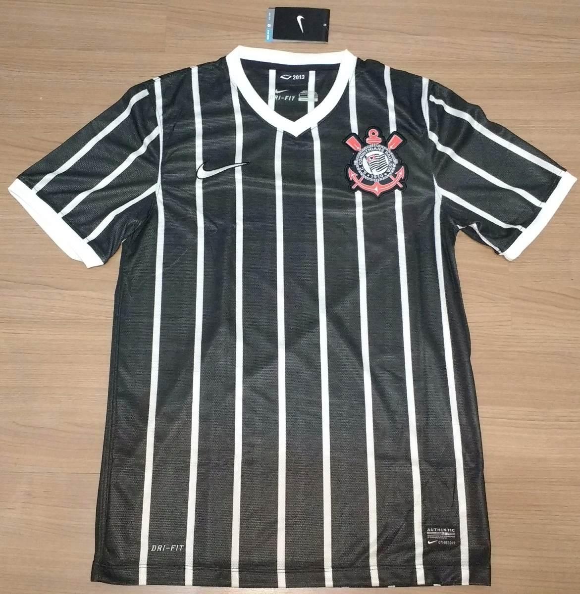 camisa corinthians nike campeão 2013 sem patrocínio - 74. Carregando zoom. 895674a376e0c