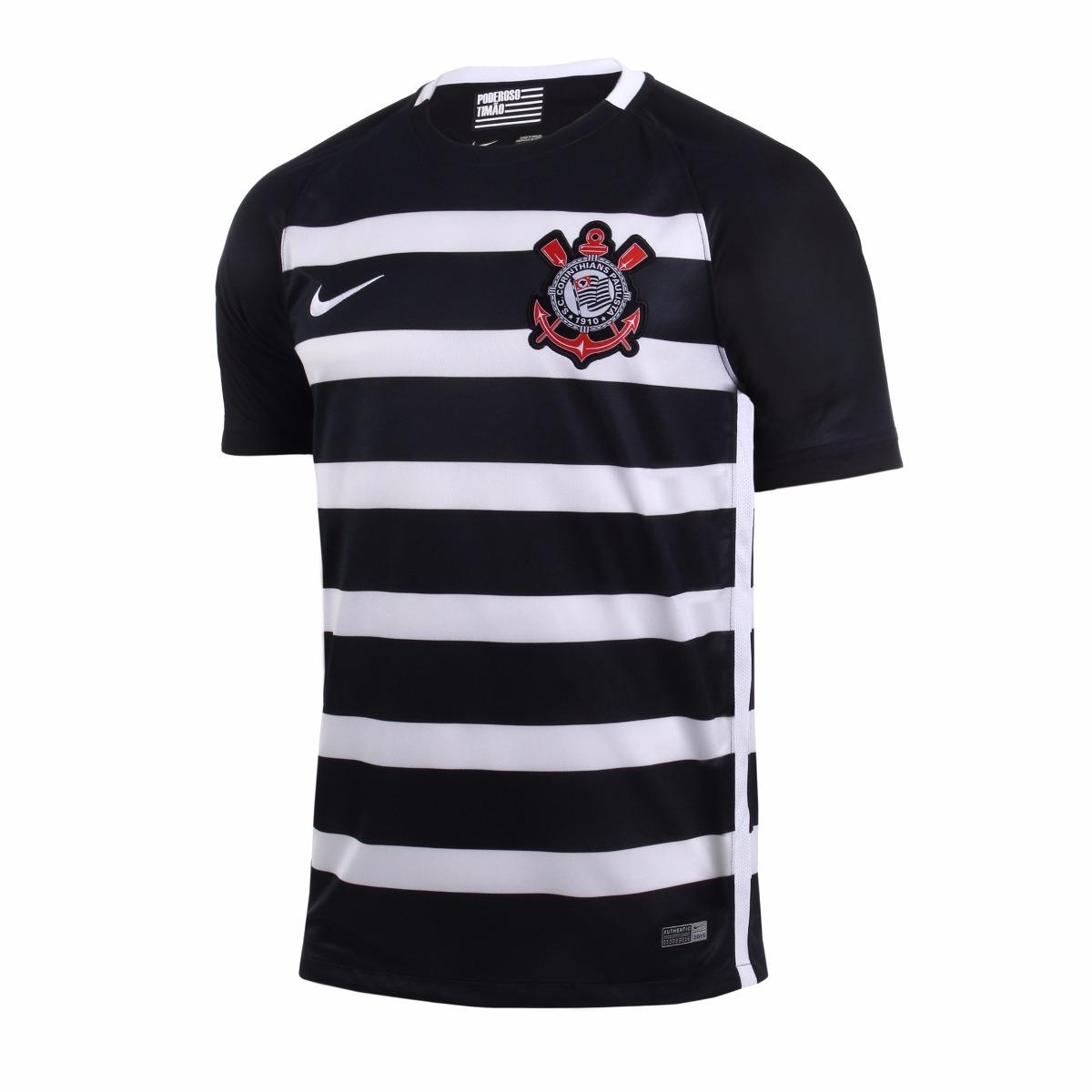 camisa corinthians nike ii - 2015   2016 - s nº - torcedor. Carregando zoom. 7a212ac056df5