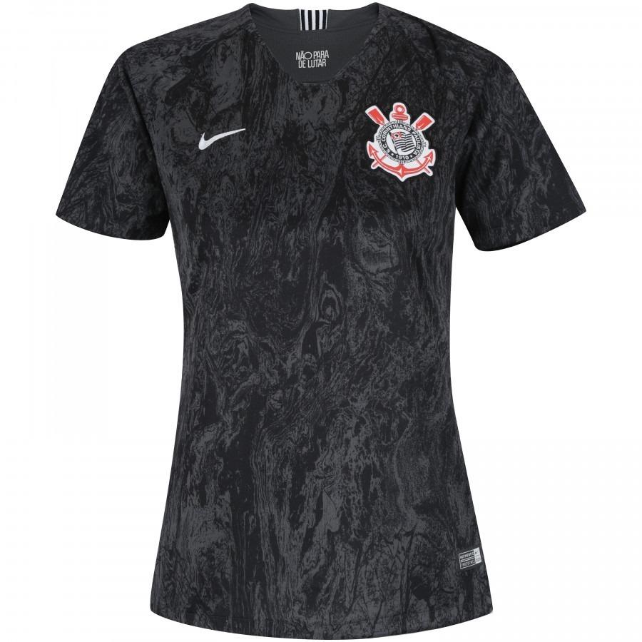 camisa corinthians nike il oficial 2018   2019 feminina. Carregando zoom. 8ea1b41e84dbc