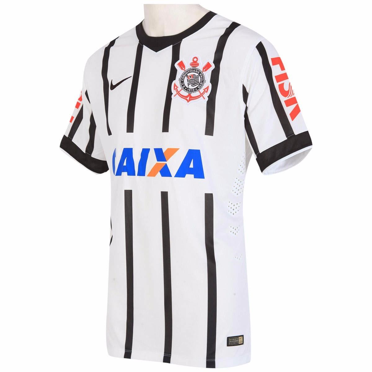 camisa corinthians nike jogador 2014 oficial pronta entrega. Carregando zoom . 0df7ce8057571