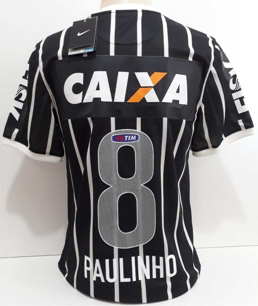 51097906be Camisa Corinthians Nike Mundial E Libertadores Paulinho - 08 - R ...