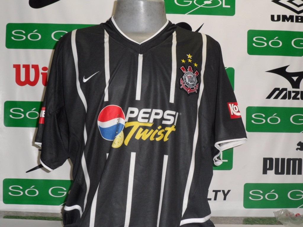 7edae51f2e camisa corinthians nike oficial pepsi twist 2002 novinha. Carregando zoom.