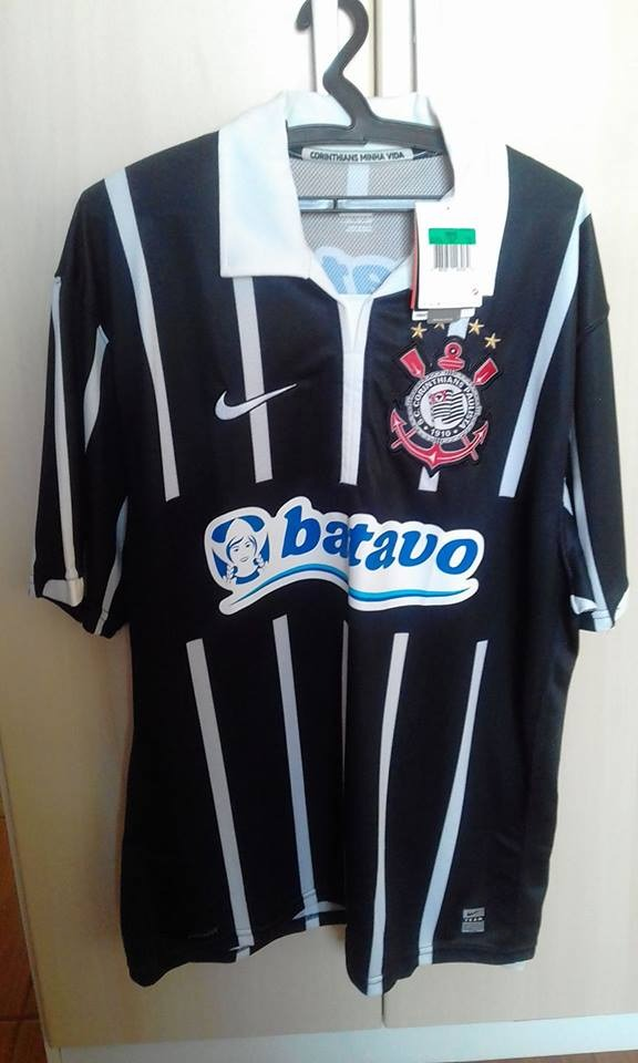 Camisa Corinthians Nike Oficial Vaguinho Frete Gratis - R  160 5274cd2c6e021