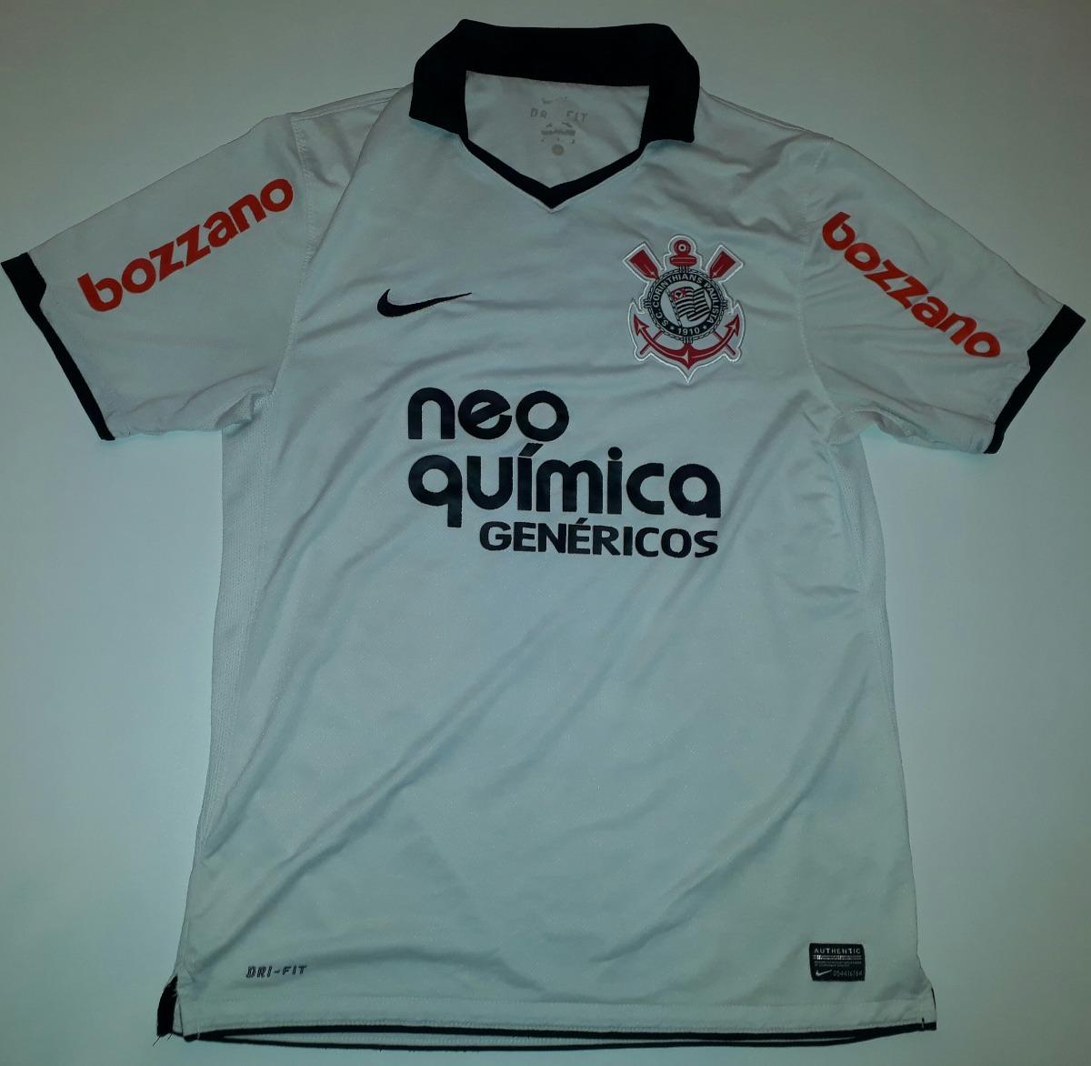 camisa corinthians nike paulinho campeão brasileiro 2011- 63. Carregando  zoom. d544cb929da4d
