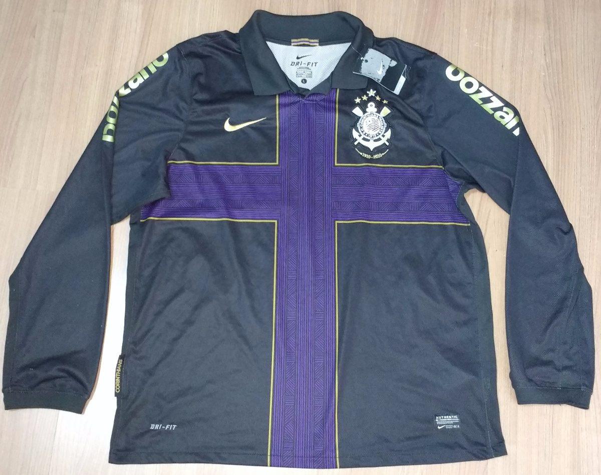 camisa corinthians nike ronaldo centenário cruz roxa 2010. Carregando zoom. d4b0f0b10dba5