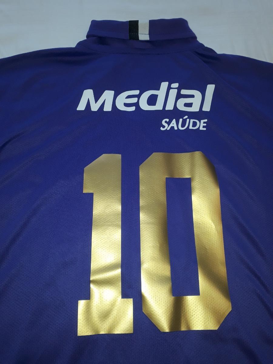 49d8b63e04078 Camisa Corinthians Nike Roxa 2008   2009 Ótimo Estado - B8 - R  199 ...