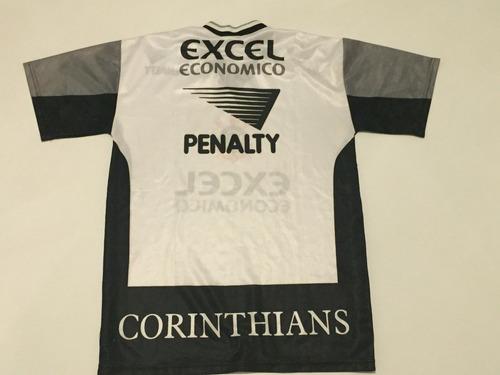 camisa corinthians oficial 1997 penalty treino l g