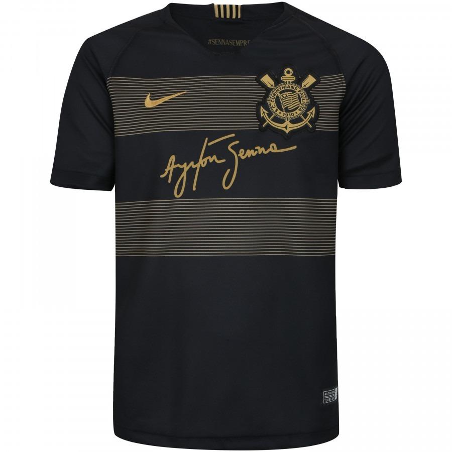 15c832fead Camisa Corinthians Oficial Iii 2018 - Juvenil - Frete Grátis - R ...