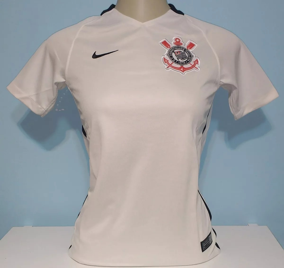 Camisa Corinthians Original 100% Nike Feminina - 78 - R  138 50a9f6bb148a8
