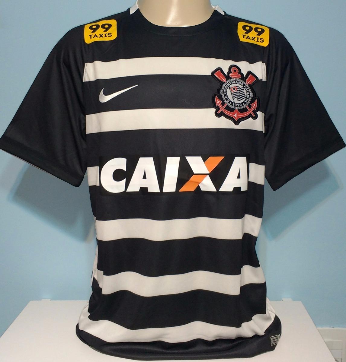 camisa corinthians original nike hexacampeão brasileiro 2015. Carregando  zoom. 140654c591f41