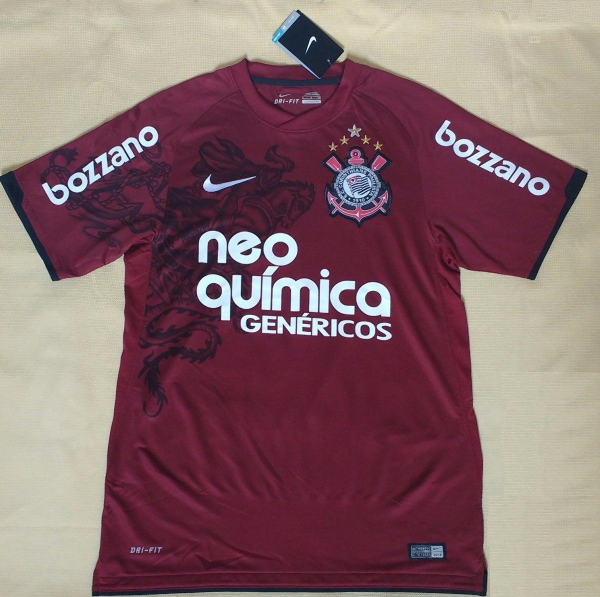 camisa corinthians original nike paulinho grená campeão 2011. Carregando  zoom. 9b019fa964eb8