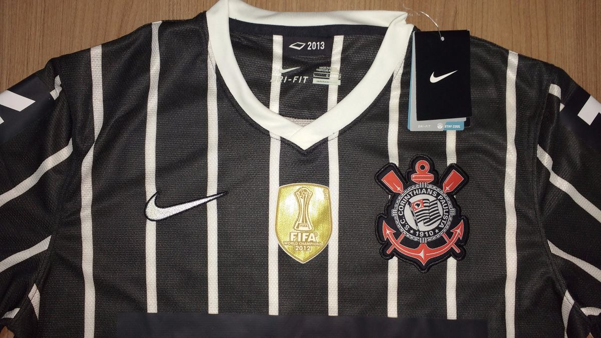 Camisa Corinthians Paulinho Nike Libertadores E Mundial - 08 - R ... d4757bbe20877