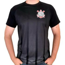 Camisa Corinthians Preto Listra Oficial