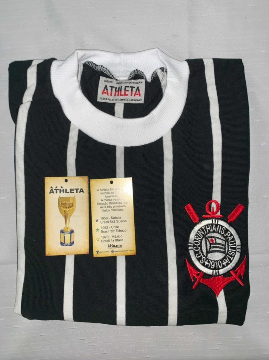 f0610604de Camisa Corinthians Retro 1977 Oficial Athleta + Autenticidad - R ...