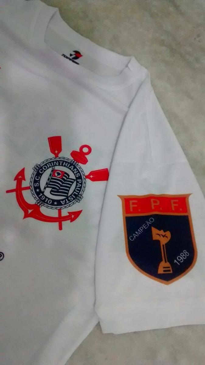 camisa corinthians retro 1989 - kalunga. Carregando zoom. a5dbd2b58caa6