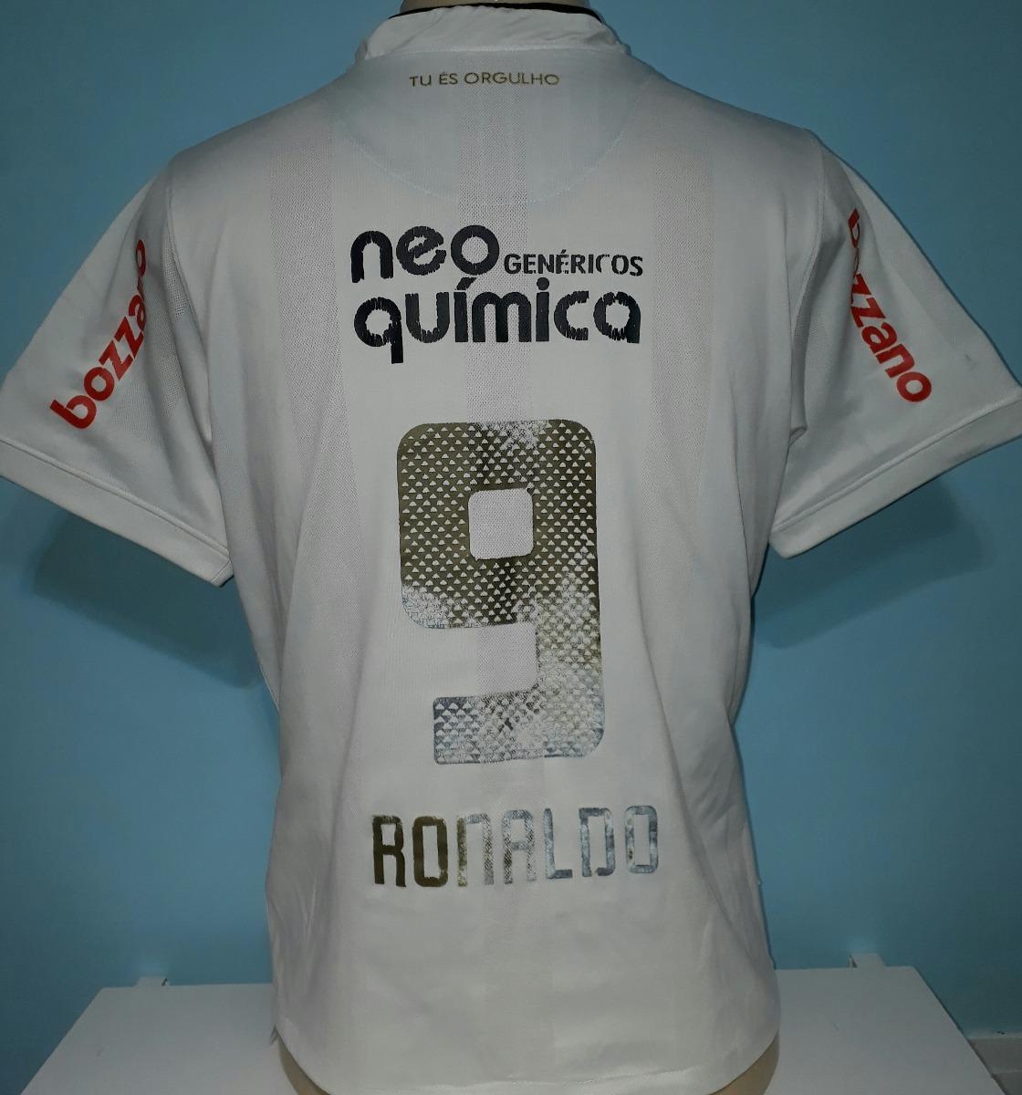 camisa corinthians ronaldo 9 nike do centenário - a8. Carregando zoom. 90bcdb9608338