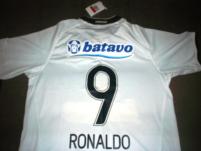 a56f8eb04f Camisa Corinthians Ronaldo Fenômeno 2009 Original Nike Batav - R ...