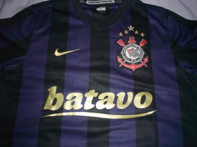 149b8524ed Camisa Corinthians Ronaldo Fenômeno 2009 Original Nike Roxa - R  390 ...