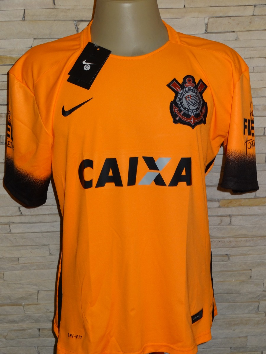 4bb890f335425 camisa corinthians terrão laranja 2015. Carregando zoom.