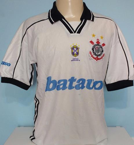 camisa corinthians topper original batavo campeão 1999 - 13