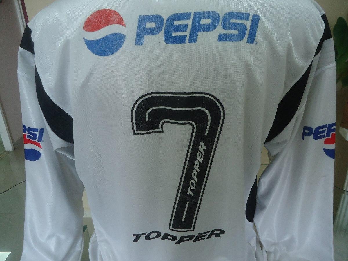 Camisa Corinthians Topper   Pepsi 2002  7 Manga Longa - R  414 30aa25138d299
