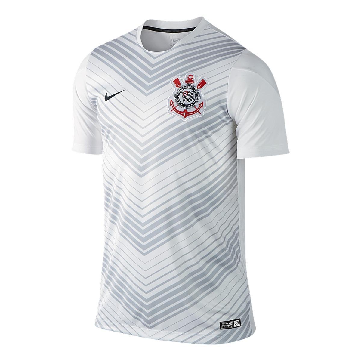 64c925054de38 camisa corinthians treino pre match 2014 nike. Carregando zoom.