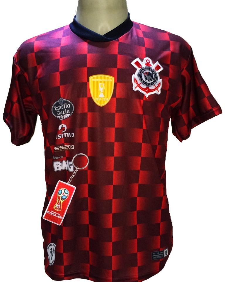 Camisa Corinthians Vermelha Pre Jogo Nova Lancamento - R  29 34c860ed966b6