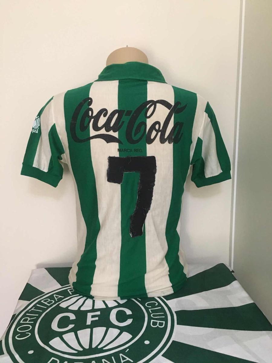 Camisa Coritiba Campeã 1989 - R  350 8c60e423c82d4