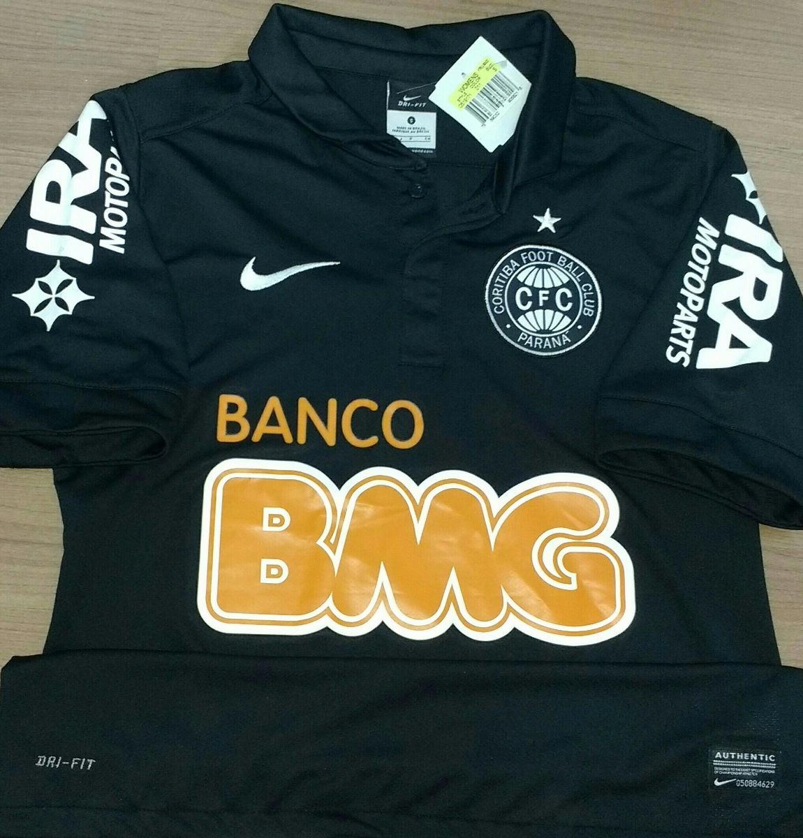 camisa coritiba campeão 2012 preta nike original - 12. Carregando zoom. 8358e459f3c33