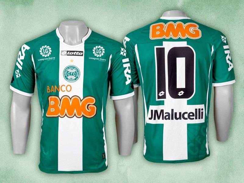 Camisa Coritiba Lotto 2011 Novinha Promoção Vb Gol - R  79 f191ec6c58bbd