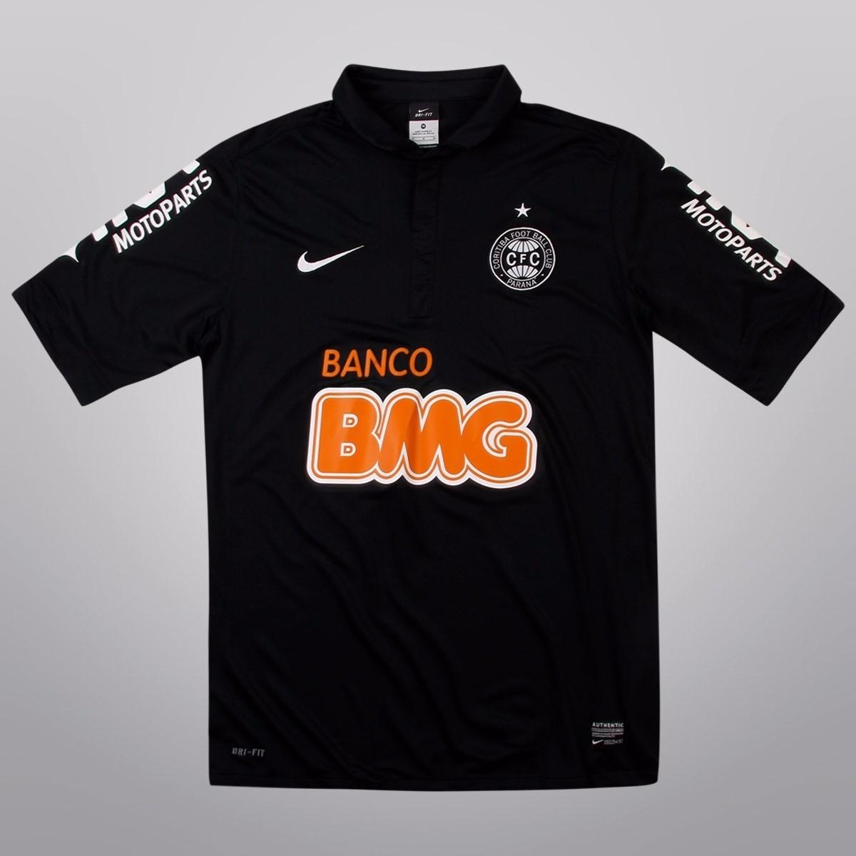 camisa coritiba nike oficial preta 2013 super promoção !!! Carregando zoom. 8ff1759daaadd