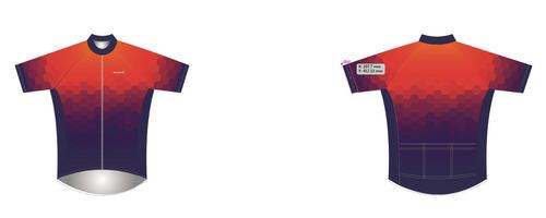 camisa corta de ciclismo ropa de deporte para hombres - s