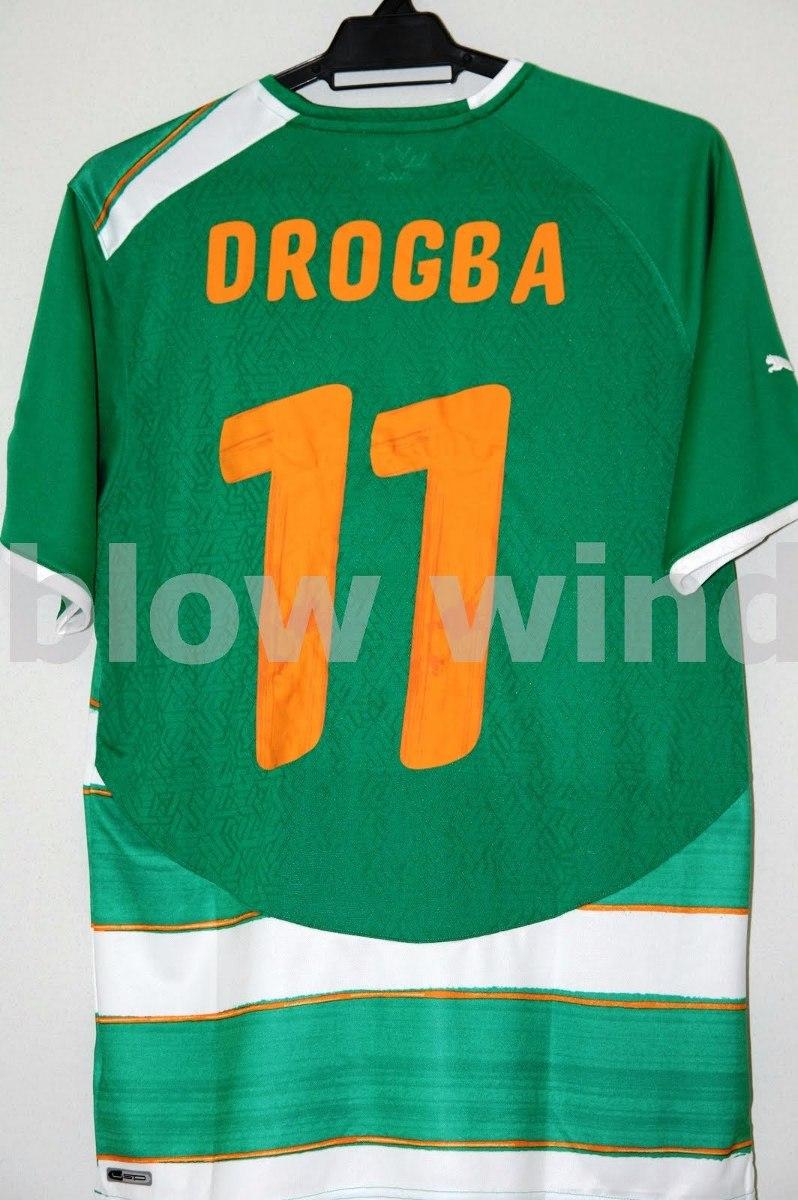 Camisa Costa Do Marfim Away 09 10 Didier Drogba  11 Puma - R  399 a7e097aa49f33