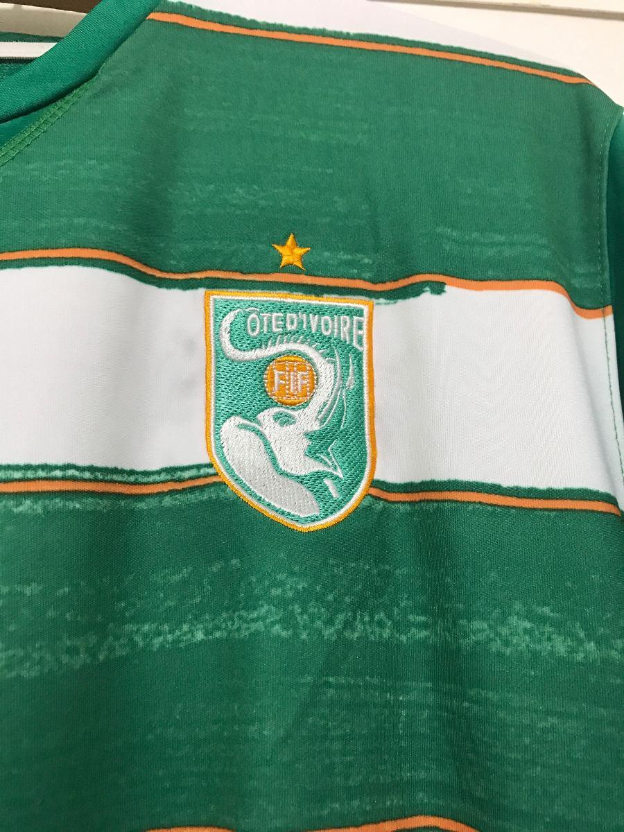 Camisa Original Costa Do Marfim - Copa 2010 -  11 Drogba - R  140 e7a4dac160cd9
