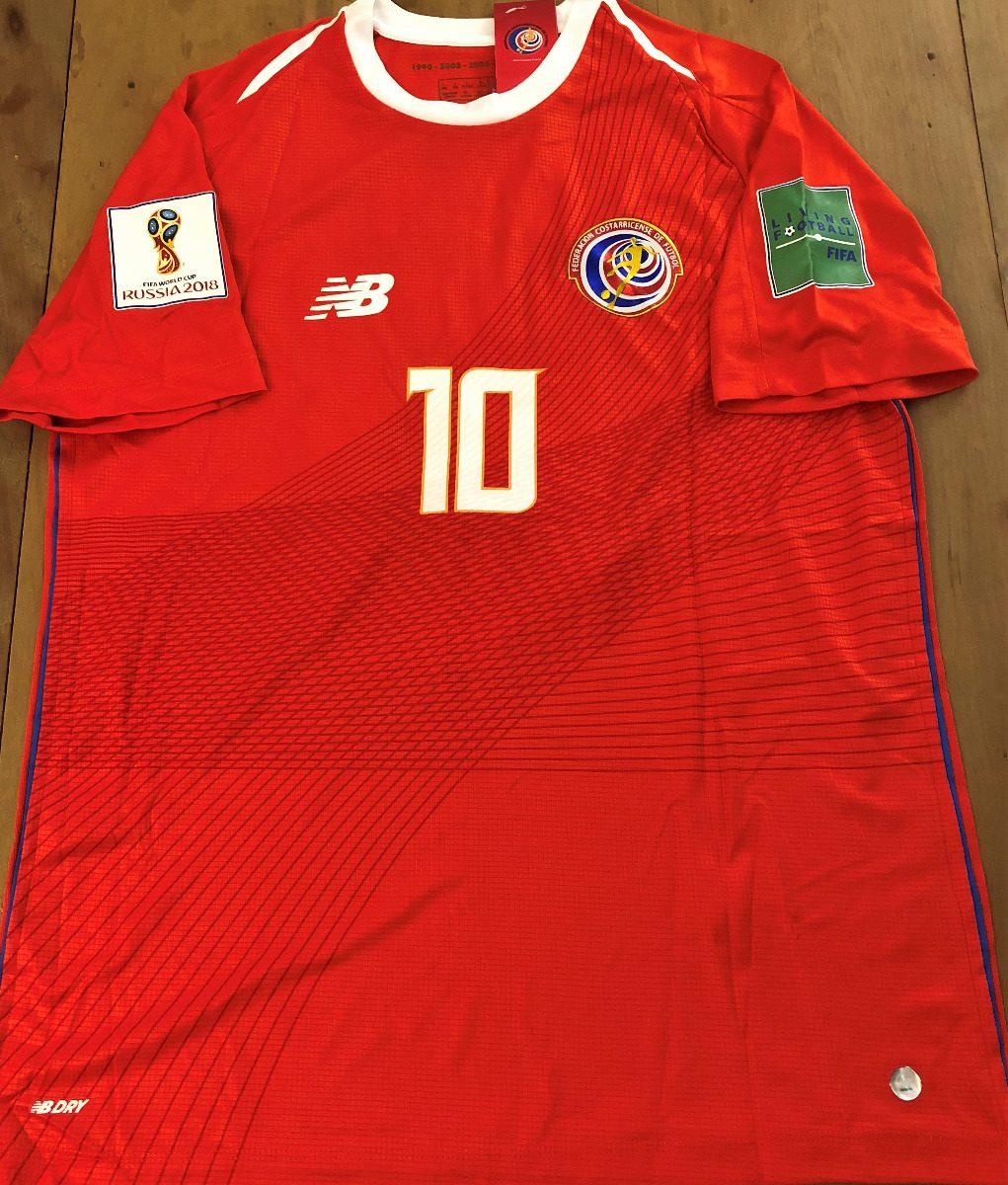 2e41e5d6e camisa costa rica copa do mundo 2018 bryan  10 completa. Carregando zoom.