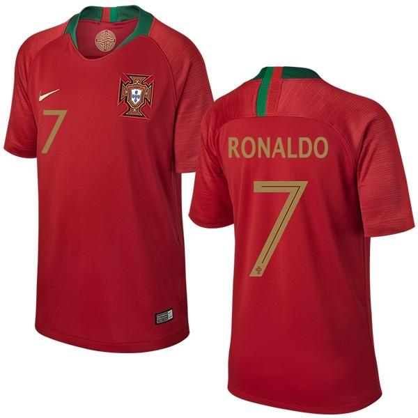 Camisa Cristiano Ronaldo Portugal 2018 Nike Copa Do Mundo - R  120 ... 968deb0f569c0