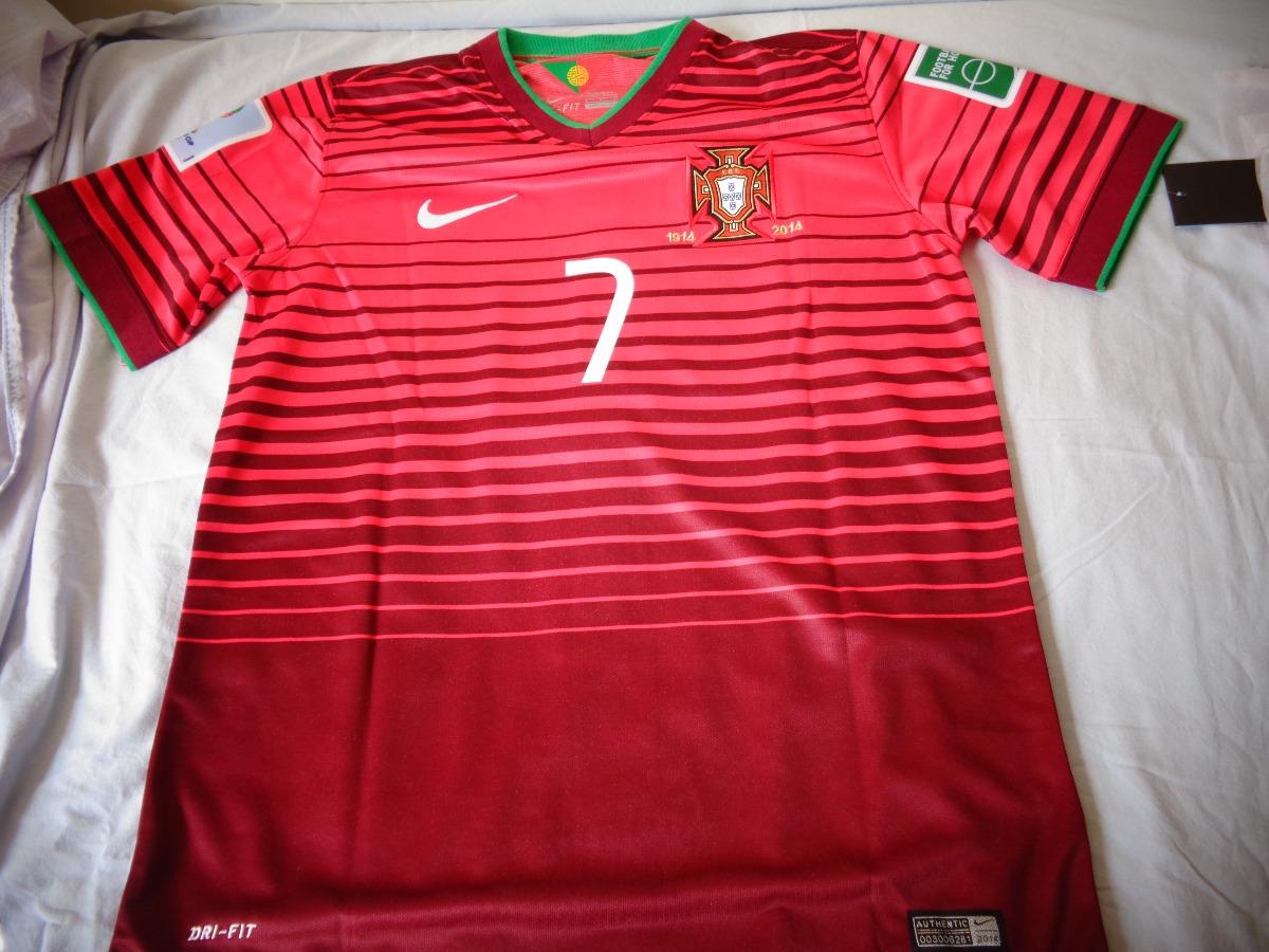 camisa cristiano ronaldo - seleção de portugal copa 2014. Carregando zoom. 4a8c3ff7162da