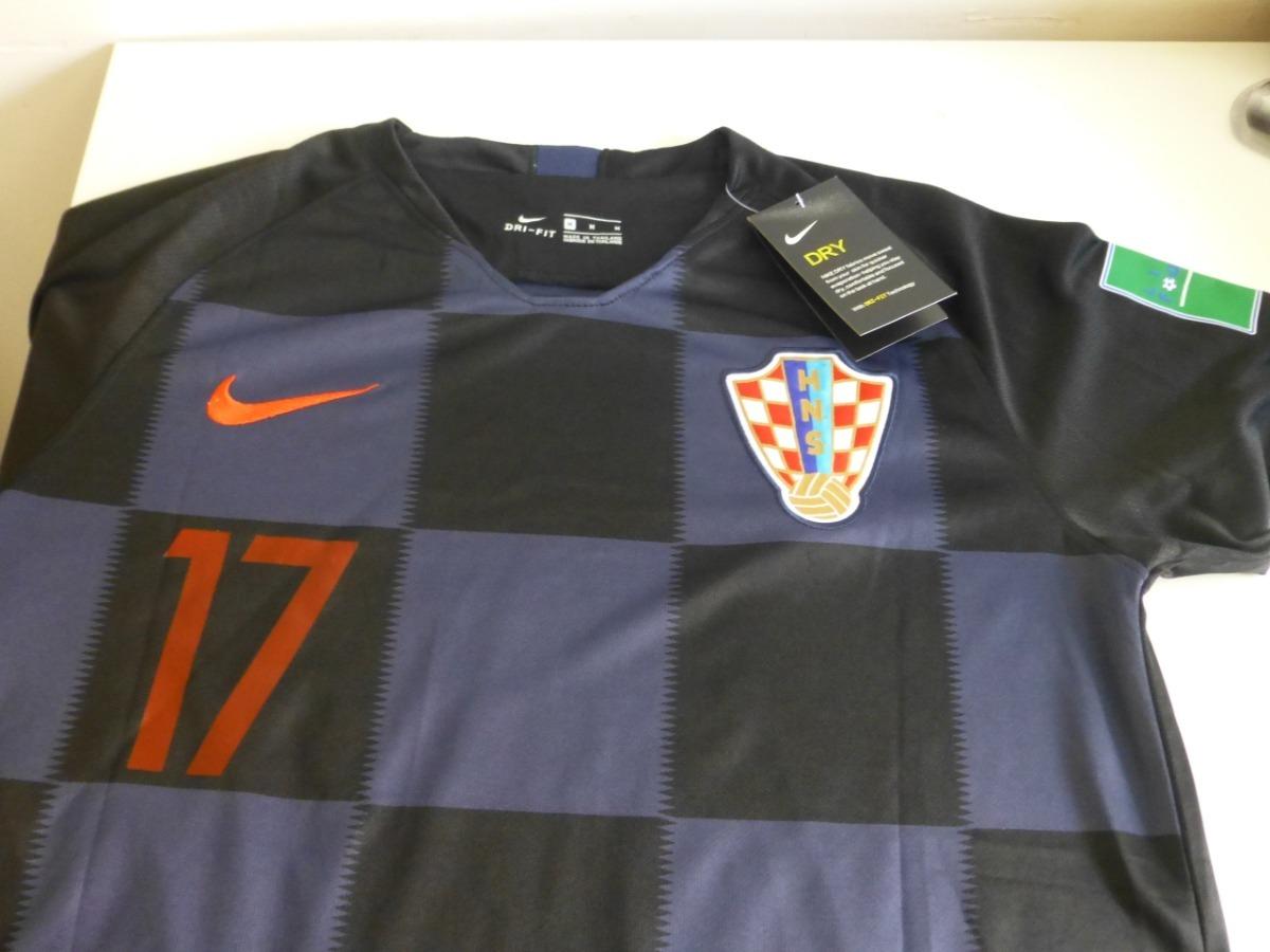 86554c805 camisa croácia seleção copa do mundo camiseta 17 mandzukic. Carregando zoom.