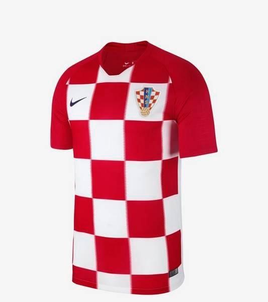 9d82f774e Camisa Croácia Uniforme 1 - 2018 Original - R  135